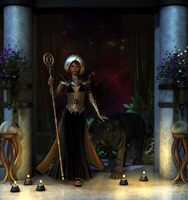 The Priestess by Faeini