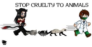 Stop Cruelty to Animals by LadyEvermyst