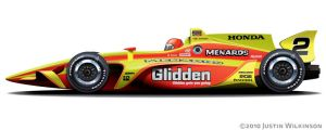 Tony Stewart Swift IndyCar by AiDub