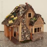 Fairy Dollhouse with a fireplace - outside front by RevelloDrive1630