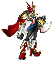 KING SHOUTMON by neoarchangemon