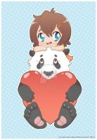 Panda Love by Osho-Zena