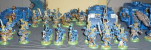 Thousand Sons army by Pallas4