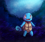 Squirtle (a test) by Psychoticly-Cute