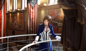 Elizabeth Bioshock Infinite Cosplay by LiliDin