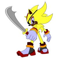 Super Shadow the Pirate by goaferboy