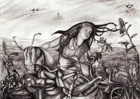 The Locust Plague by artybel