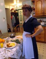 Lucille Ball Halloween cosplay...2 by Artsy50