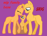 Mlp family base by SuperRosey16