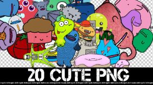 20 CUTE PNG + by Discopada