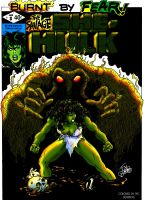 BURGOS' SHE HULK COVER 8 by DeadDog2007