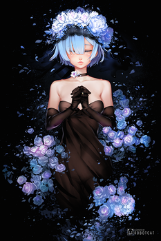 Eternal REM by RobotCatArt