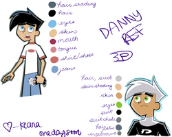 Danny Color Ref by onedaysoon