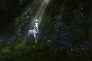 A Light in the Darkness by Art-By-Mel-DA
