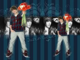 Justin Bieber Wallpaper by viiveunaa1viida