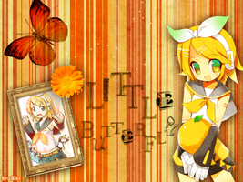 Little Butterfly- Kagamine Rin by x-Aliiz-x