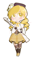 Tomoe Mami by MC--ClapYoHandz