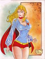SUPERGIRL 70's by RODEL MARTIN (07192014) by rodelsm21