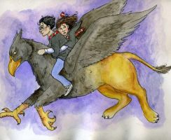 Buckbeak's Escape by LongLiveQueequeg