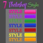 7 Color Photoshop Style by amuchan06
