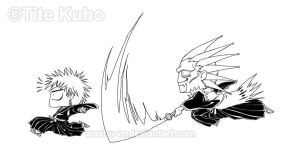 BLEACH - Ichigo Kenpachi - RUN by Washu-M