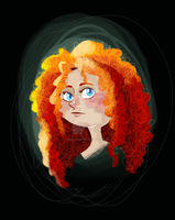 Merida by TopHatTurtle