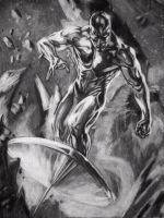 Silver Surfer by like-allan-poe