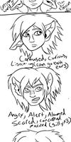 Unseen World---Elf Ears Expressions by JedaUW