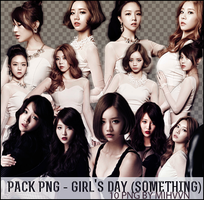 PACK PNG - Girl's Day (Something) by MiHVVN