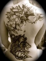 Back tat by galaric