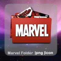 Marvel Folder by elephantbones