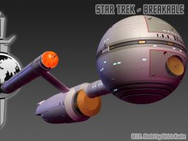 I.S.S. DAEDALUS for STAR TREK - BREAKABLE ISO-03 by ulimann644