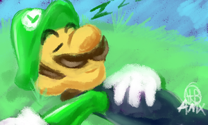 sleepy weegee by AnimatorMX