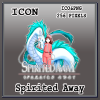 Spirited Away Icon by Myk-2103