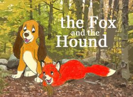 Fox and the Hound by fishspear