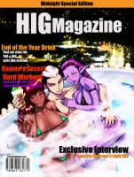 Hig magazine cover by cyberunique