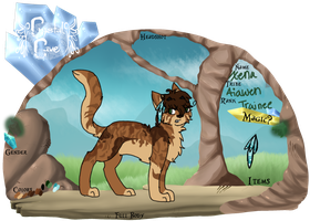 Crystal-Cave//Xena app by luna-the-puppy