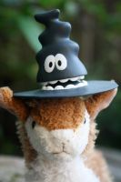 Witch Hat Llama by here-and-faraway