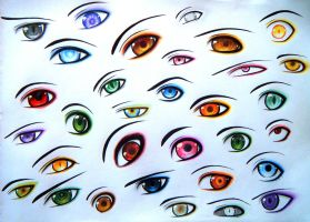 32 eyes by Gresta-GraceM