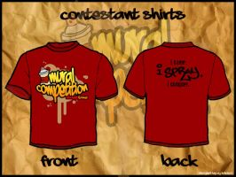 Mural Competition Shirt Design by supermanisback