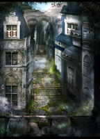 Fantasy alley by Tiffany-Tees
