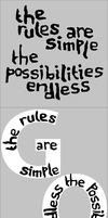 The rules are simple... by Tamara-Hawk