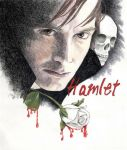 David Tennant as Hamlet by JustDenise