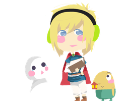 Pewdie + Cry Ni No Kuni by NatWithLeCopic