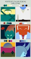 Colour Scheme Challenge by Rozzers: Rogues Gallery by neilkristian