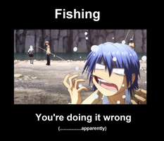 Fishing Angel Beats Style by otakuawsomeness