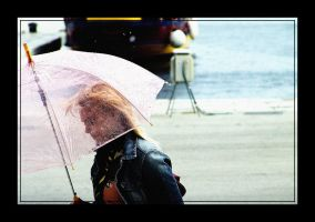 :: pinky:umbrella:lady :: by 23-d