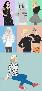 Outfit meme dump by re-ro