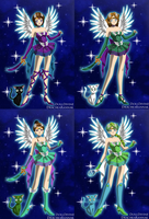 Goddess Senshi by Oceanfairydust