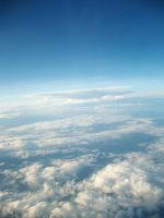 Sky from above 4 by bumimanusiastock